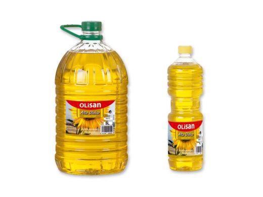 Aceite de girasol alto oleico - Olisan