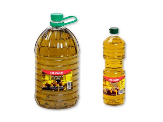 Aceite de orujo de oliva - Olisan