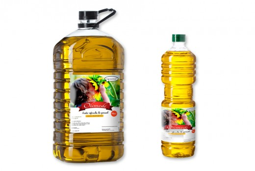 Aceite de girasol refinado - Olimedi
