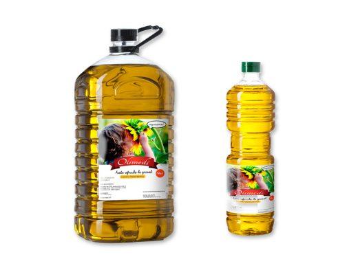 Aceite girasol refinado - Olimedi