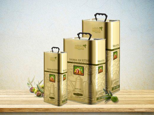 Aceite de oliva virgen extra premium en lata
