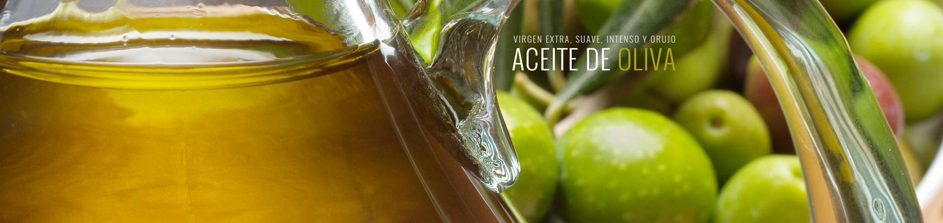 Aceite de oliva virgen extra, virgen, suave, intenso y de orujo