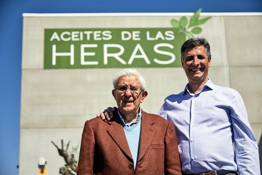 Adolfo de las Heras, padre e hijo